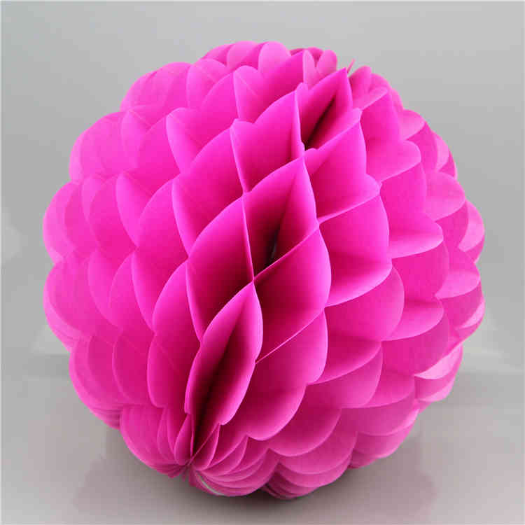 Special Shaped Tissue Paper Honeycomb Ball for party decoration