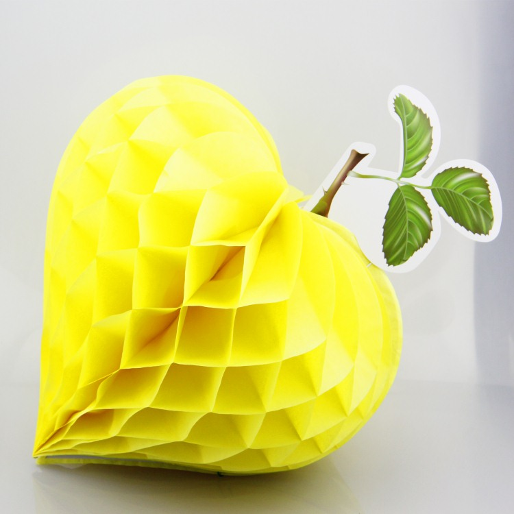 Strawberry Shaped Tissue Paper Honeycomb Balls Yellow Strawberry Shaped Tissue Paper Honeycomb Balls ... & Colorful Strawberry Shaped Tissue Paper Honeycomb Balls For Party ...