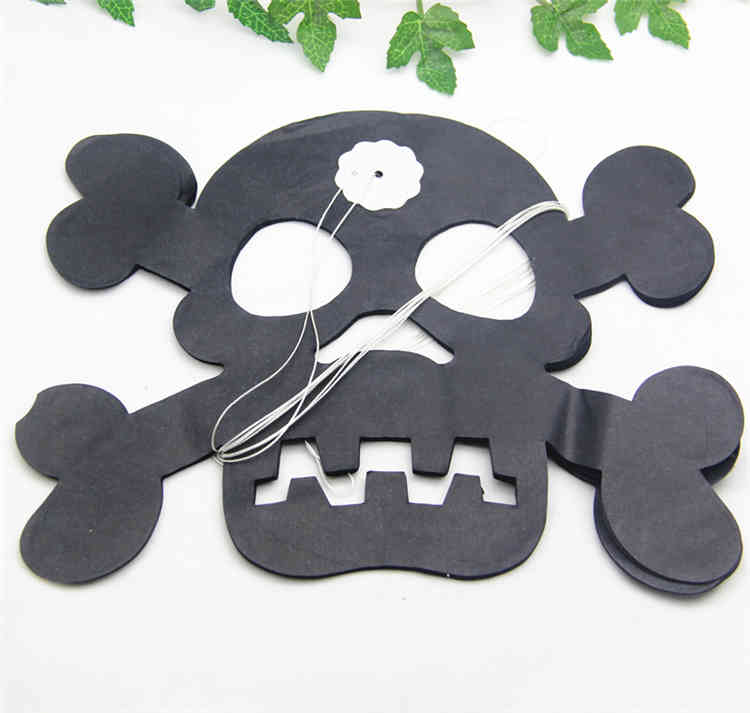 High Quality Skull Halloween Paper Garland