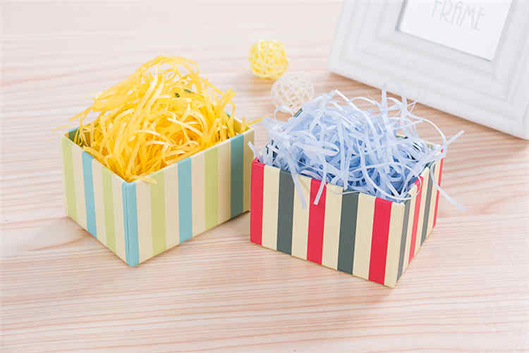 Multicolor Paper Shred Raffia