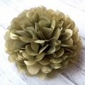 Umiss golden paper pom poms decorations for valentine's day  home or shop decorations celebration events patriot's day cocktail party new year Easter Halloween back to school