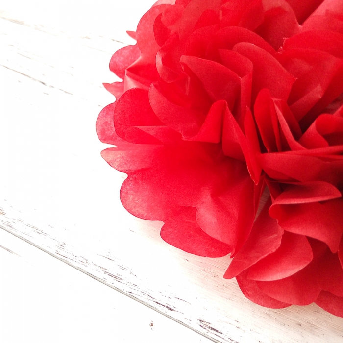 Buy diy cherry red tissue paper flowers party pom wedding decoration diy cherry red tissue paper flowers party pom wedding decoration supplies mightylinksfo