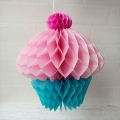 Umiss honeycomb cupcake party paper decoration