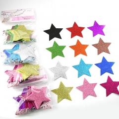christmas star garlands