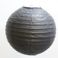 Umiss 8inch Pack of 6 Black Gold White Mixed Colors Paper Lanterns for weddings