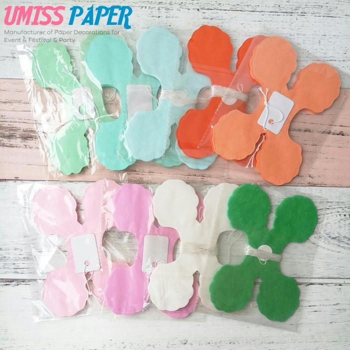 Buy 1181 Feet36m Each Hanging Garland Four Leaf Tissue Paper