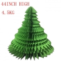 4.5kg Giant Wholesale Artificial Green Foldable Paper Christmas Sales Tree