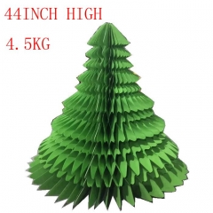 Giant Paper Christmas Tree