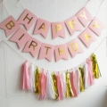 Bulk Garlands Pack With Happy Birthday Bunting Banner