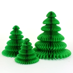 Christmas Tree Honeycomb Balls