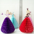 Umiss  Fairy Tale Cards Paper Honeycomb Balls for Birthday Party