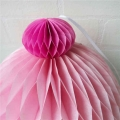 Factory Supply Tissue Paper Honeycomb Cupcakes Decoration For Birthday Party