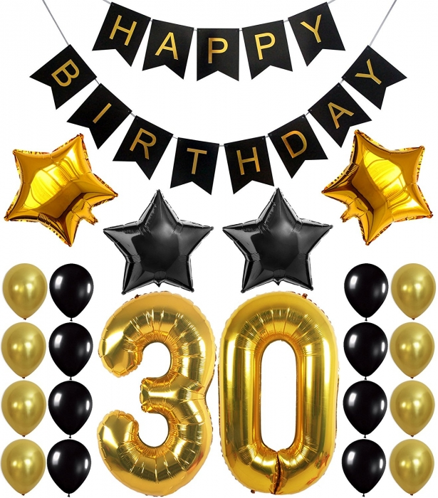 Buy 30th 50th Birthday Party Decorations Kit With Sparkling