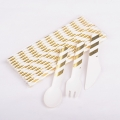13.5mm Ice Cream Paper Spoons For Birthday Party Decorations