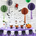 Halloween Decorations Kit Paper honeycomb ball