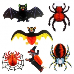 Halloween Decorations Kit Spider Bats