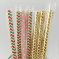 Customized Paper Straws 1pcs/bag