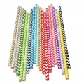 Chevron Paper Straws Wholesale