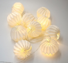 LED Strings Paper Lanterns