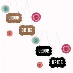 Bride Groom Banner