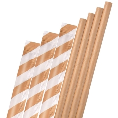 kraft Paper Straws Wholesale